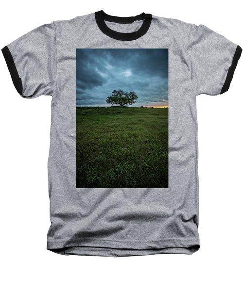 Alive Baseball T-Shirt by Aaron J Groen