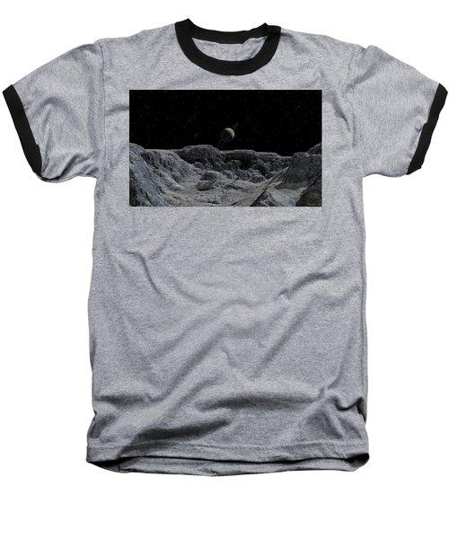 All Alone Baseball T-Shirt by David Robinson