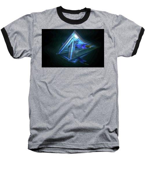 All Angles Covered Baseball T-Shirt by Mark Dunton