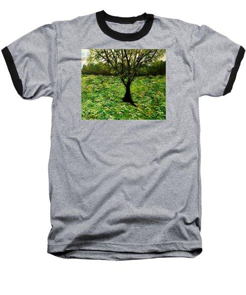 All Around The Turmoil Baseball T-Shirt by Lisa Aerts