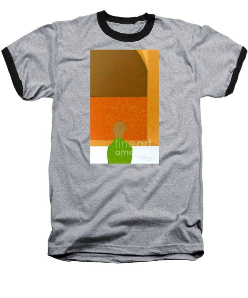 Baseball T-Shirt featuring the painting All Children Wonder by Bill OConnor