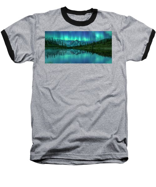 Baseball T-Shirt featuring the photograph All In My Mind by Jon Glaser