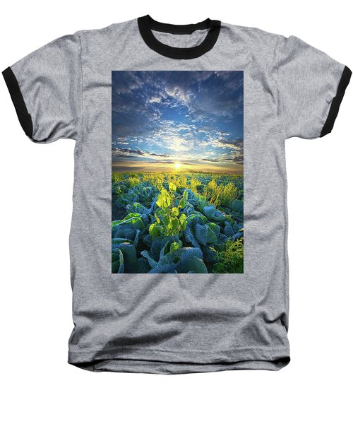 All Joined As One Baseball T-Shirt by Phil Koch