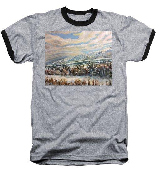 All Of Creation Waits Baseball T-Shirt
