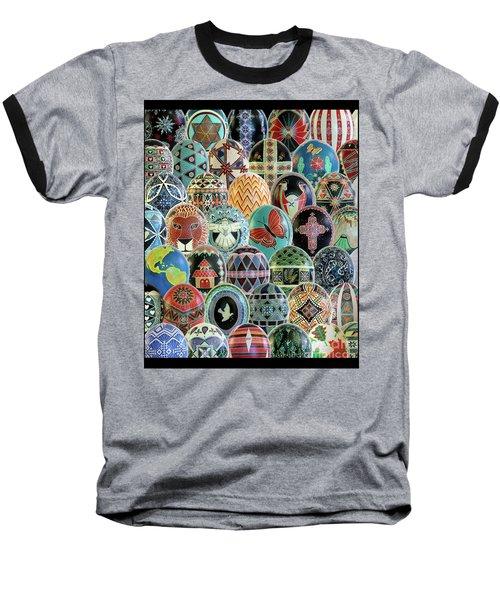 All Ostrich Eggs Collage Baseball T-Shirt
