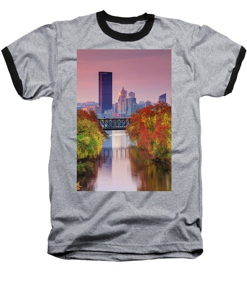 All Pittsburgh Pink  Baseball T-Shirt