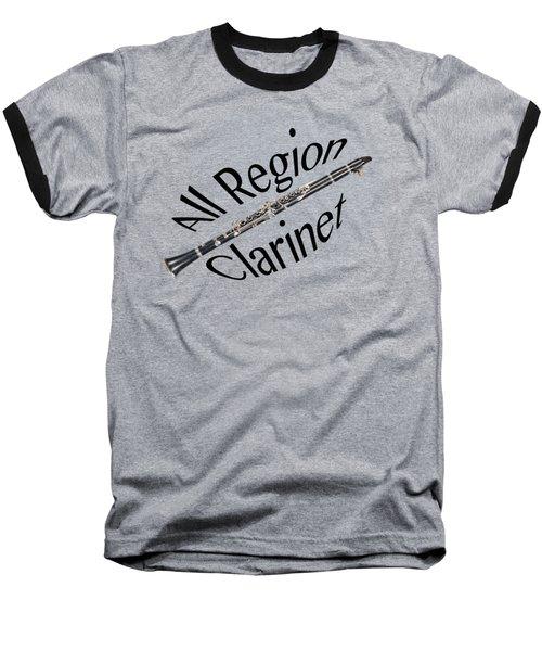 All Region Clarinet Baseball T-Shirt