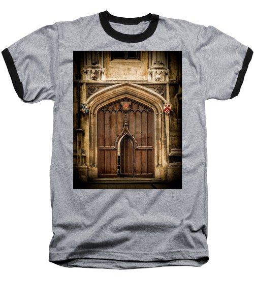 Oxford, England - All Souls Gate Baseball T-Shirt