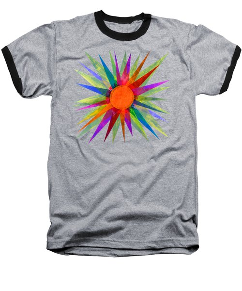 All The Colors In The Sun Baseball T-Shirt