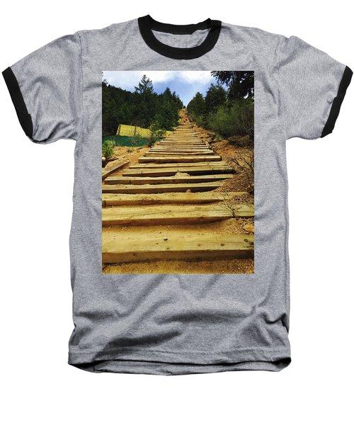 All The Way Up Baseball T-Shirt