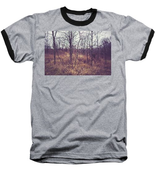 Baseball T-Shirt featuring the photograph All The While by Shane Holsclaw