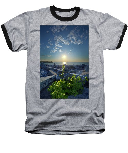 Baseball T-Shirt featuring the photograph All Things Are Possible by Phil Koch