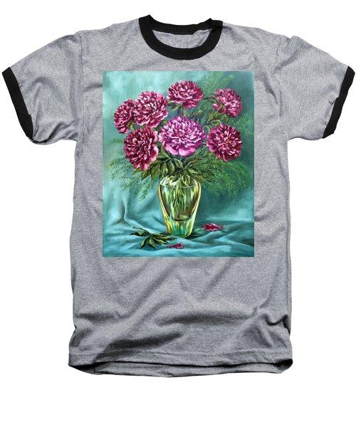All Things Beautiful Baseball T-Shirt by Karen Showell