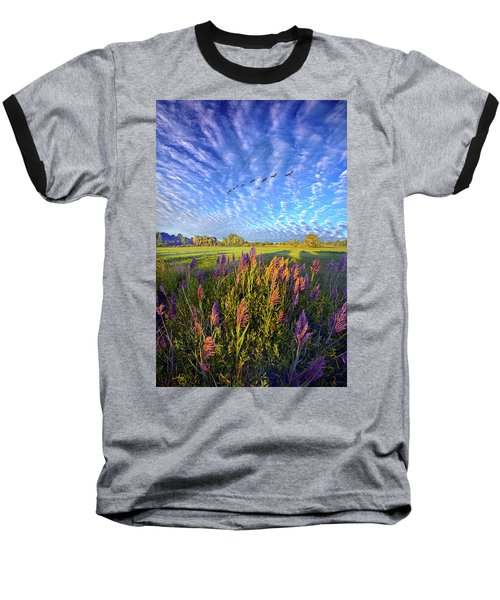 Baseball T-Shirt featuring the photograph All Things Created And Held Together by Phil Koch