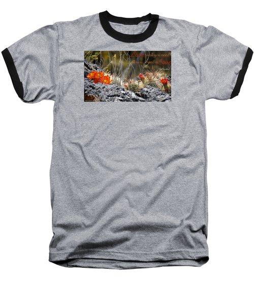 All We Need Baseball T-Shirt by David Norman