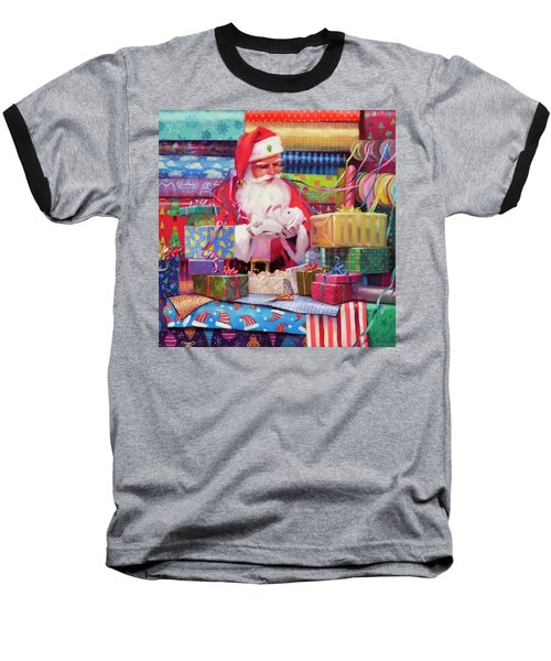 All Wrapped Up Baseball T-Shirt