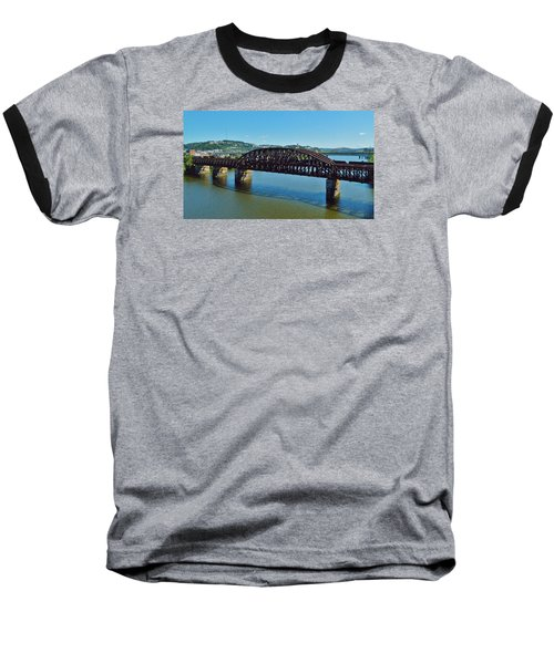 Allegheny Crossing Baseball T-Shirt by William Bartholomew