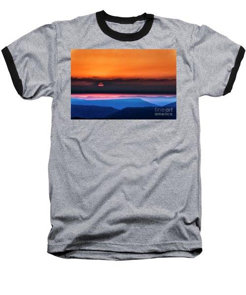 Allegheny Mountain Sunrise 2 Baseball T-Shirt