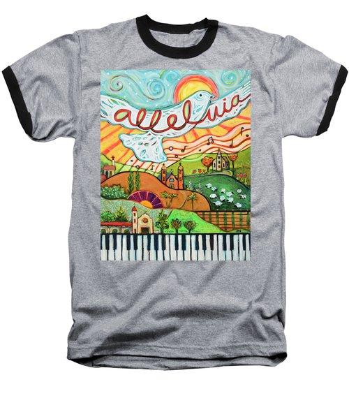 Alleluia Baseball T-Shirt
