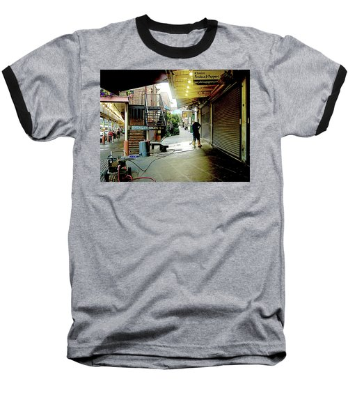 Alley Market End Of Day Baseball T-Shirt