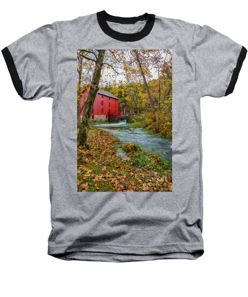 Alley Mill In Autumn Baseball T-Shirt