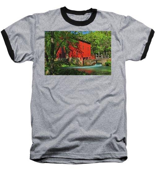 Alley Spring Mill Baseball T-Shirt