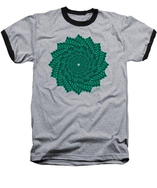 Alligator-dragon Tail Baseball T-Shirt by Heather Schaefer