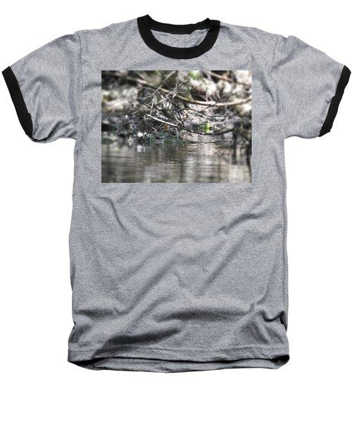 Alligator In Silver Baseball T-Shirt