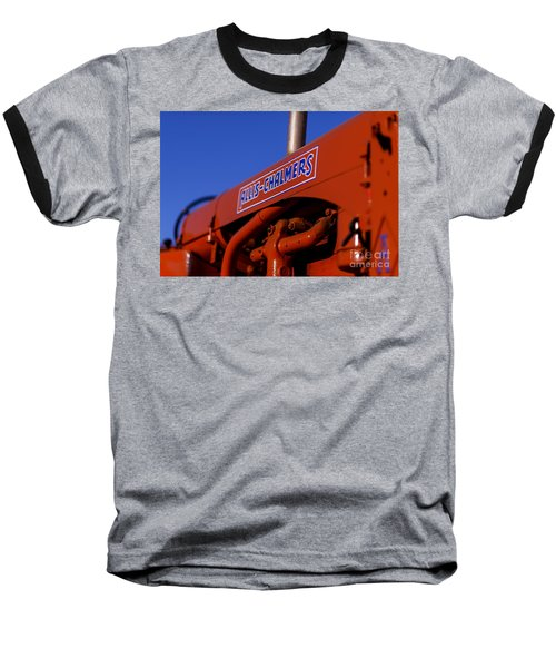 Allis-chalmers Vintage Tractor Baseball T-Shirt