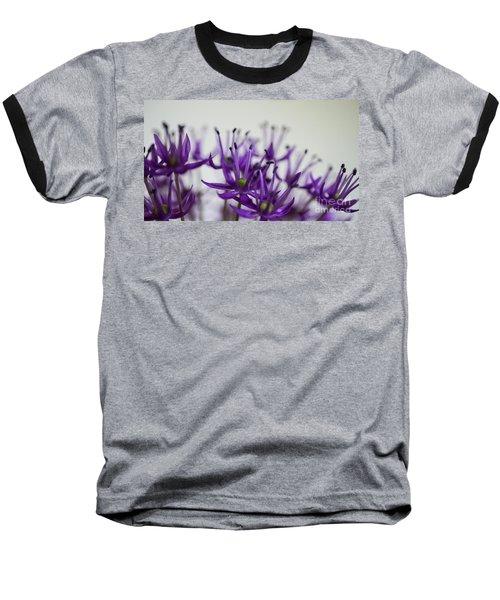 Allium Aflatunense Sideview Baseball T-Shirt