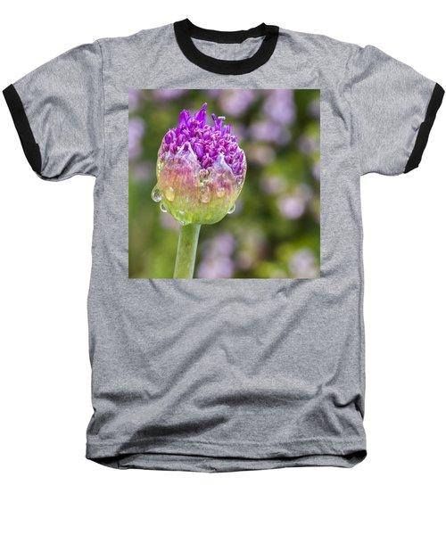 Allium Bud  Baseball T-Shirt