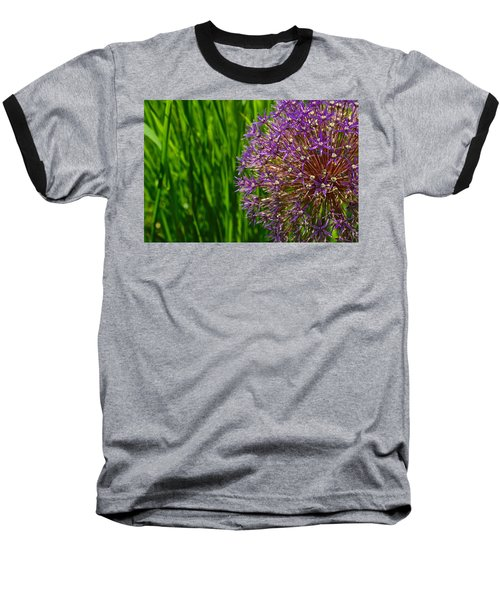 Allium Explosion Baseball T-Shirt