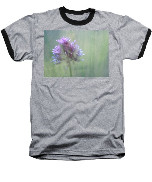 Allium Impressionism Baseball T-Shirt