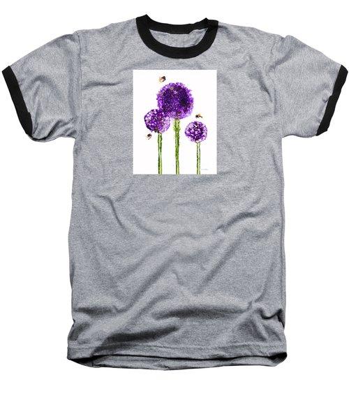 Alliums Humming Baseball T-Shirt