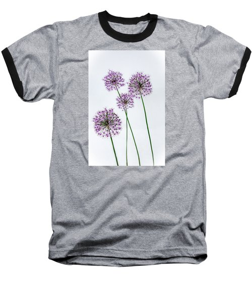 Alliums Standing Tall Baseball T-Shirt