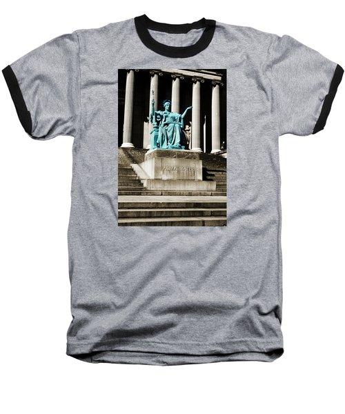 Alma Mater Baseball T-Shirt by Marilyn Hunt
