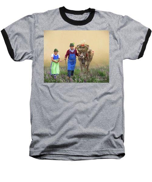 Almabtrieb Baseball T-Shirt