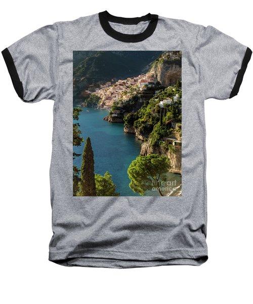 Almalfi Coast Baseball T-Shirt