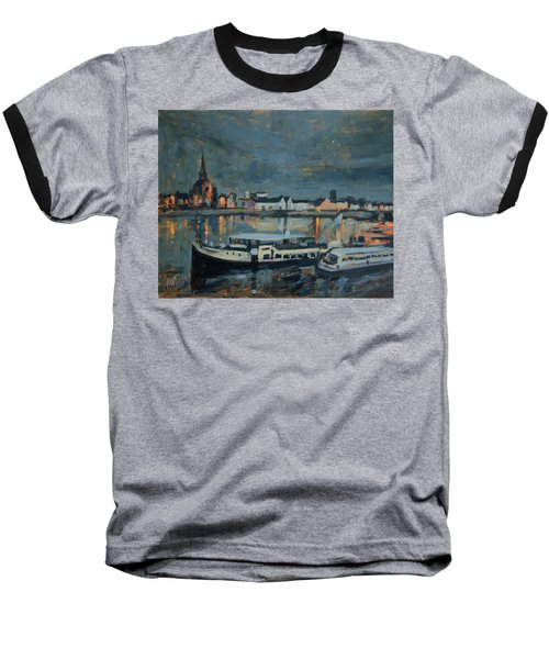 Almost Christmas In Maastricht Baseball T-Shirt by Nop Briex