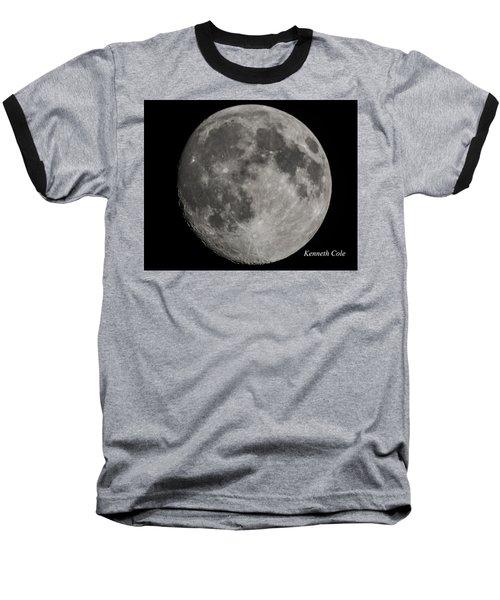 Almost Full Moon Baseball T-Shirt