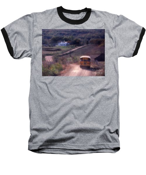 Almost Home Baseball T-Shirt by Garry McMichael