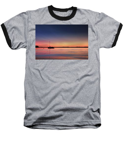 Baseball T-Shirt featuring the photograph Almost Paradise by Lori Deiter