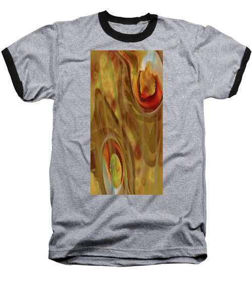 Baseball T-Shirt featuring the digital art Almost Resting by Steve Sperry