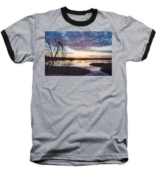 Almost Spring Sunset Baseball T-Shirt