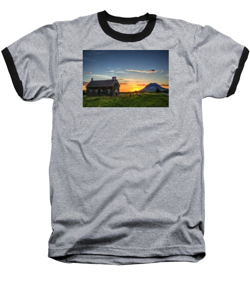 Almost Sunrise Baseball T-Shirt by Fiskr Larsen