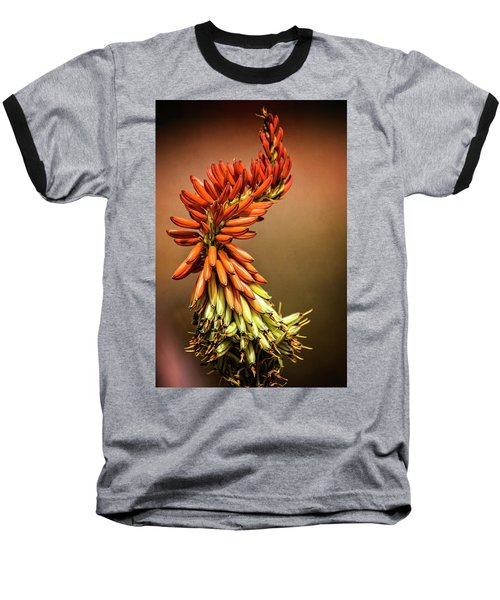 Baseball T-Shirt featuring the photograph Aloe Vera Twist  by Saija Lehtonen