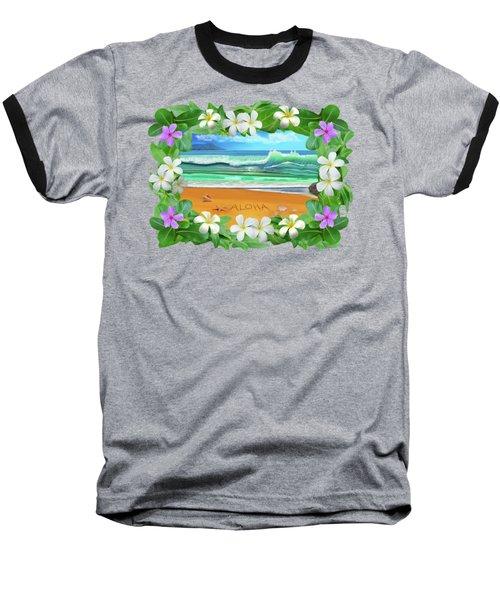 Aloha Hawaii Baseball T-Shirt
