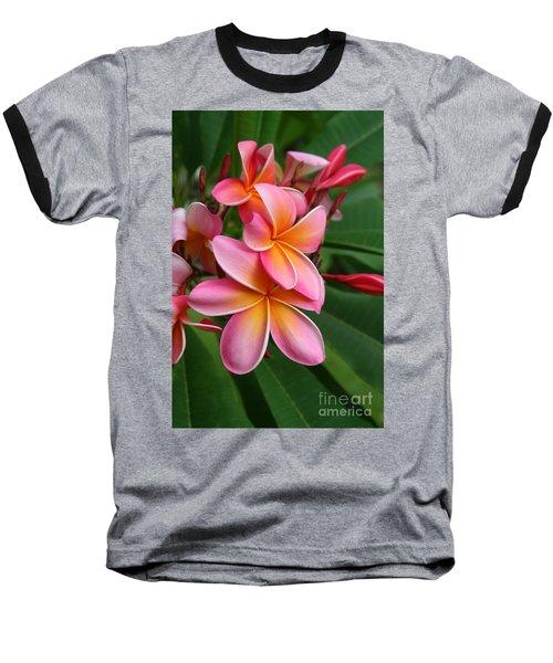 Aloha Lei Pua Melia Keanae Baseball T-Shirt