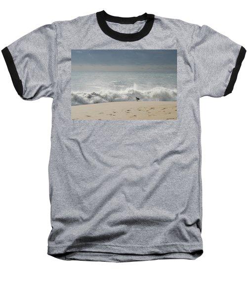 Alone - Jersey Shore Baseball T-Shirt