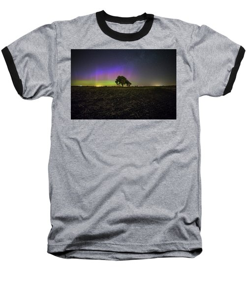Baseball T-Shirt featuring the photograph Alone by Aaron J Groen
